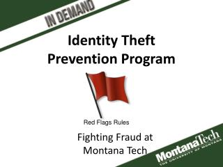 Identity Theft  Prevention Program