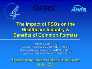 The Impact of PSOs on the Healthcare Industry & Benefits of Common Formats