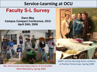 Service-Learning at OCU