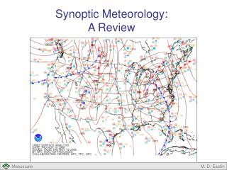 Synoptic Meteorology: A Review