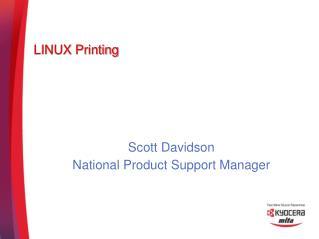 LINUX Printing
