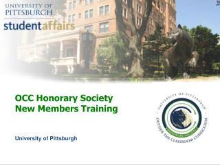 OCC Honorary Society  New Members Training