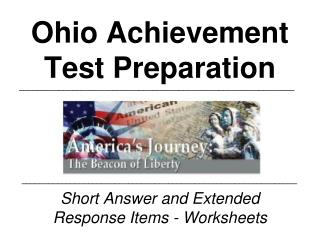 Ohio Achievement Test Preparation