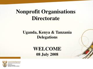 Nonprofit Organisations  Directorate
