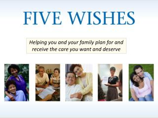 Helping you and your family plan for and receive the care you want and deserve