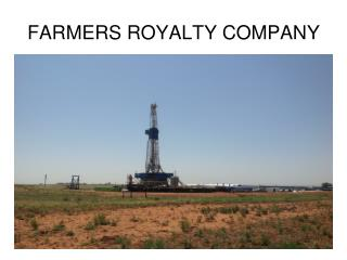 FARMERS ROYALTY COMPANY