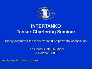 INTERTANKO Tanker Chartering Seminar