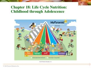 Chapter 18: Life Cycle Nutrition: Childhood through Adolescence