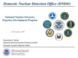 National Nuclear Forensics Expertise Development Program