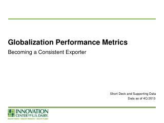 Globalization Performance Metrics