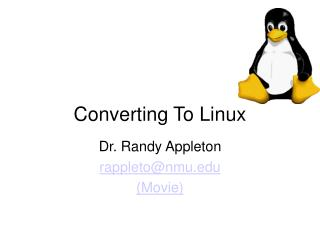 Converting To Linux