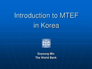 Introduction to MTEF  in Korea