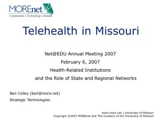 Telehealth in Missouri