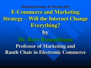Marketing as an organized business discipline has existed for over eight decades.