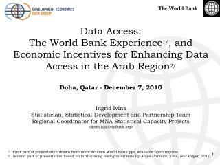 Data Access: