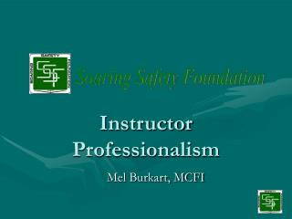 Instructor Professionalism