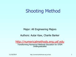 Shooting Method