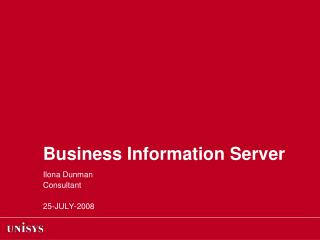 Business Information Server