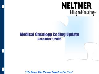Medical Oncology Coding Update December 1, 2005