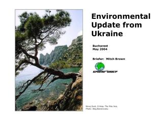 Environmental Policies and Programs