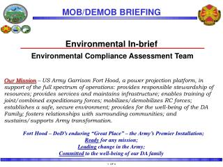 Environmental In-brief