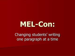 MEL-Con: