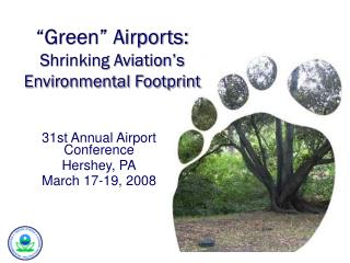 """Green"" Airports:  Shrinking Aviation's Environmental Footprint"