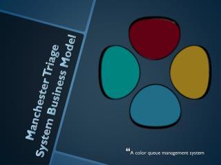 A color queue management system