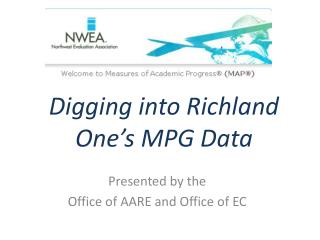 Digging into Richland One's MPG Data