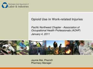 Opioid Use in Work-related Injuries