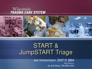 START &  JumpSTART Triage