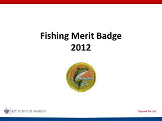 Fishing Merit Badge  2012