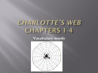 Charlotte's Web  Chapters  1-4