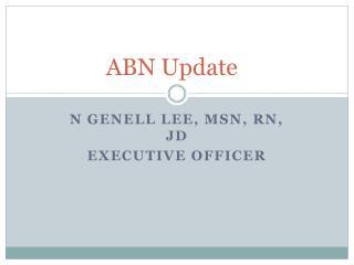 ABN Update