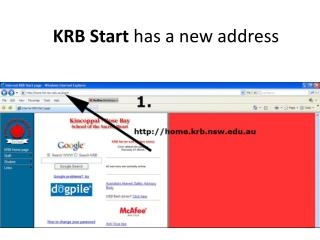 KRB Start  has a new address