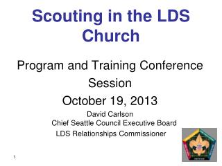 Scouting in the LDS Church