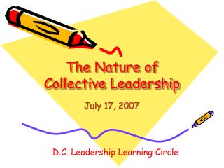 The Nature of Collective Leadership