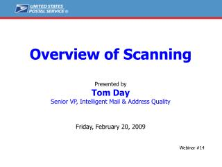 Overview of Scanning Presented by