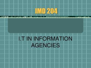 IMD 204