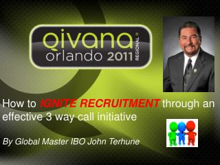 How to  IGNITE RECRUITMENT  through an effective 3 way call initiative