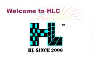 Welcome to HLC