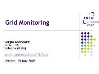 Grid Monitoring