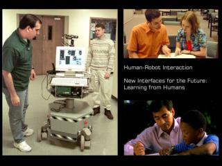 Human-Robot Interaction Robotic Presence Research Hour 17 April 2002