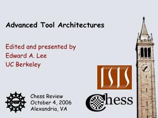 Advanced Tool Architectures