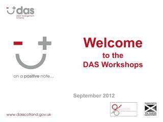 Welcome to the  DAS Workshops