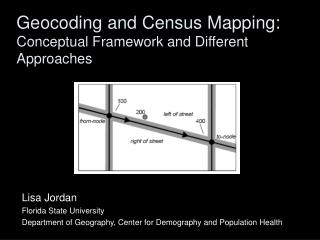 Geocoding and Census Mapping: Conceptual Framework and Different Approaches