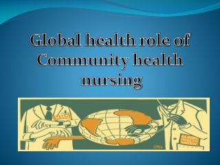 Economics and Global Health:   The Basics