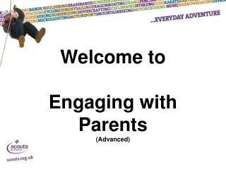 Welcome to Engaging with Parents (Advanced)