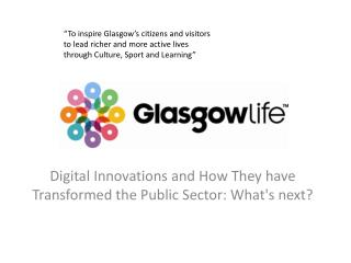 Digital Innovations and How They have Transformed the Public Sector: What's  next?