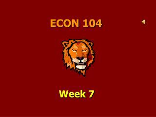 ECON 104